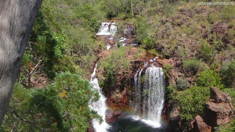 Водопады в парке Личфилд, Австралия