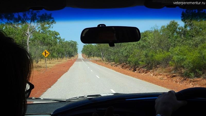 Дороги в национальном парке Личфилд, Австралия