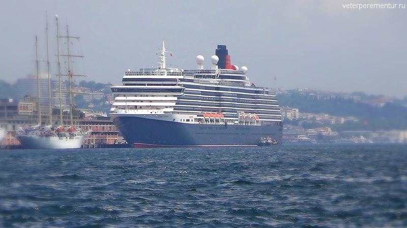 Queen Victoria в Стамбуле