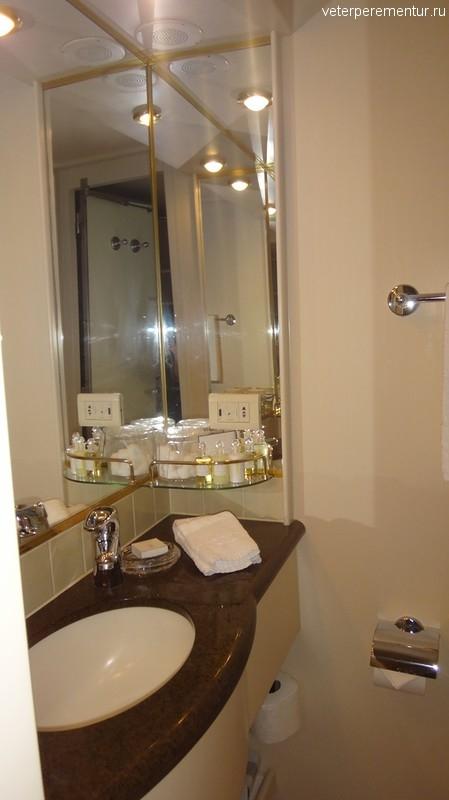 Queen Victoria, ванная комната