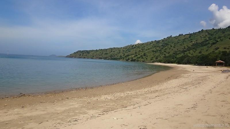 Пляж острова Комодо
