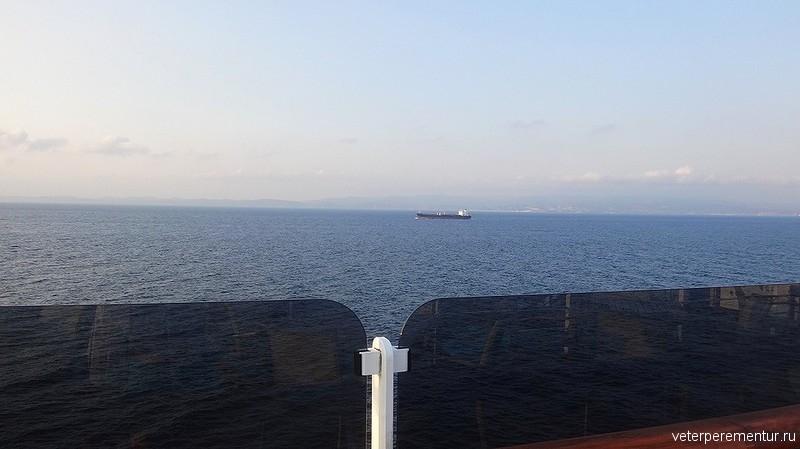 Корабли в проливе Дарданеллы