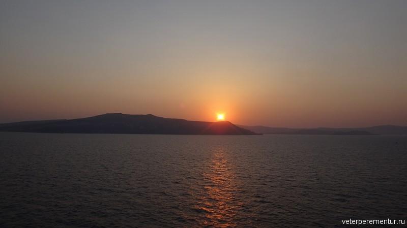 Восход на Санторини