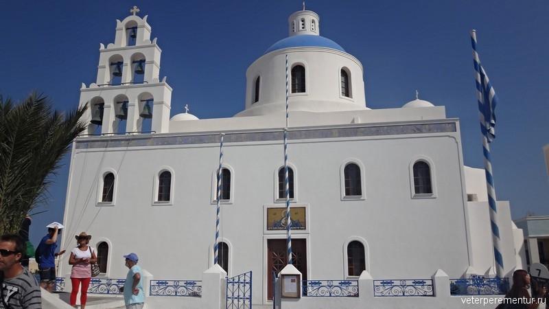 Храм, Санторини
