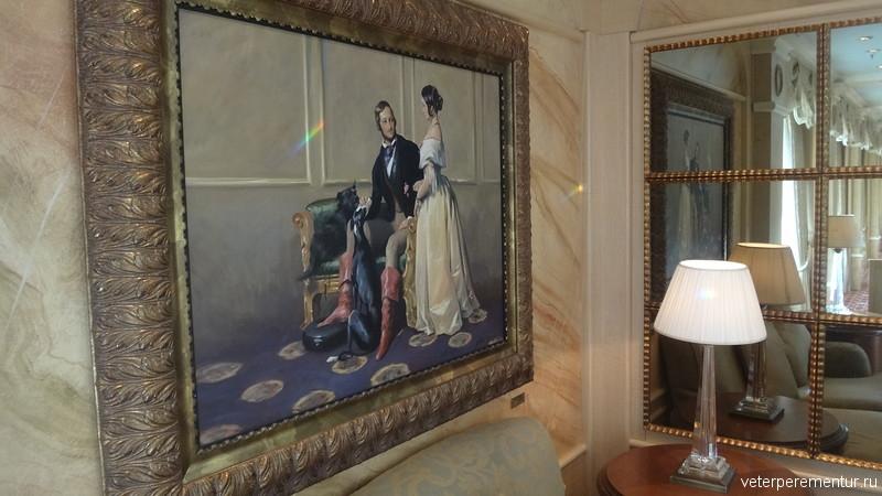 Queen Victoria, интерьеры