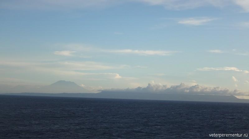 Бали, виды с корабля