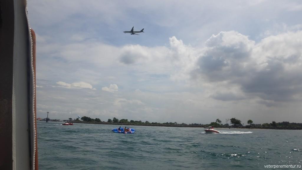 Водные развлечения на Бали