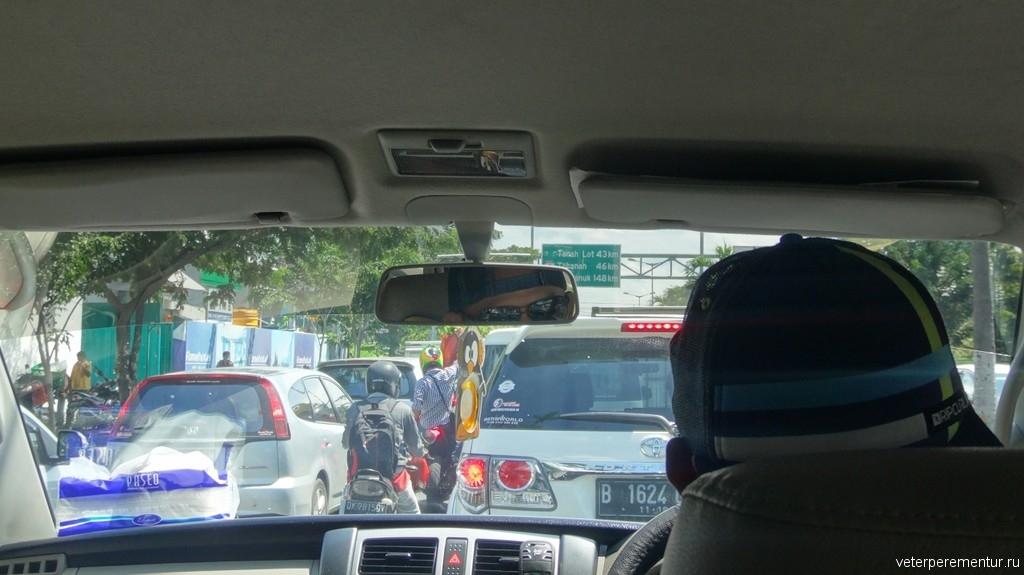 Дорожная обстановка на Бали