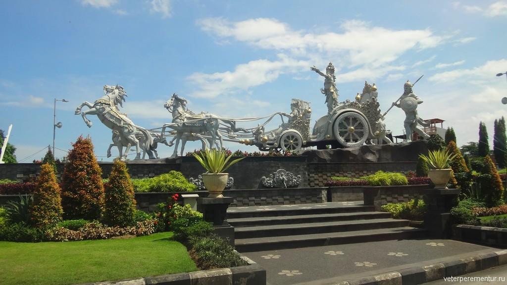 Скульптура, Бали
