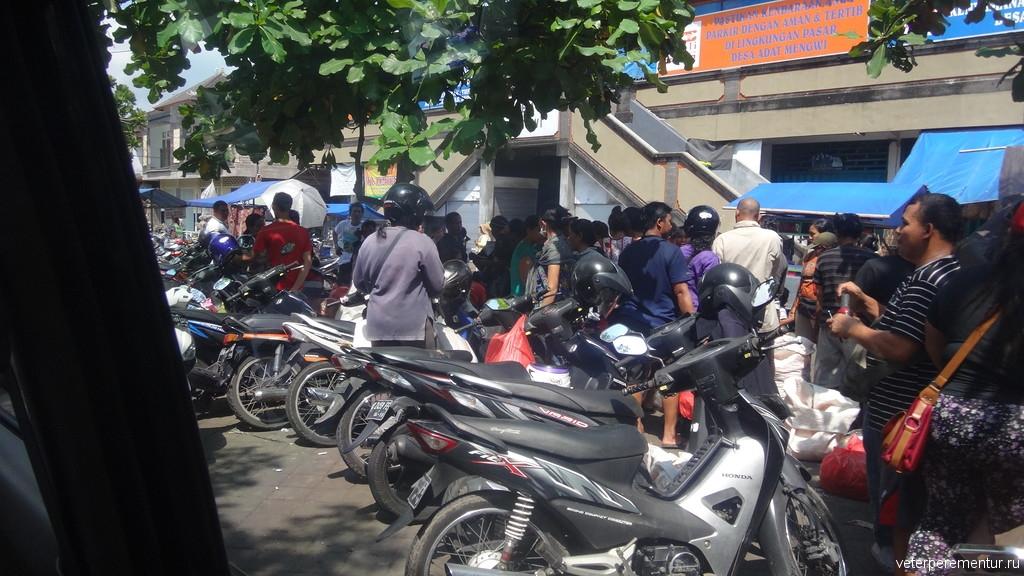 Бали, на улицах города