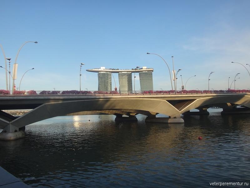 Сингапур, река, Марина Бей Сандс