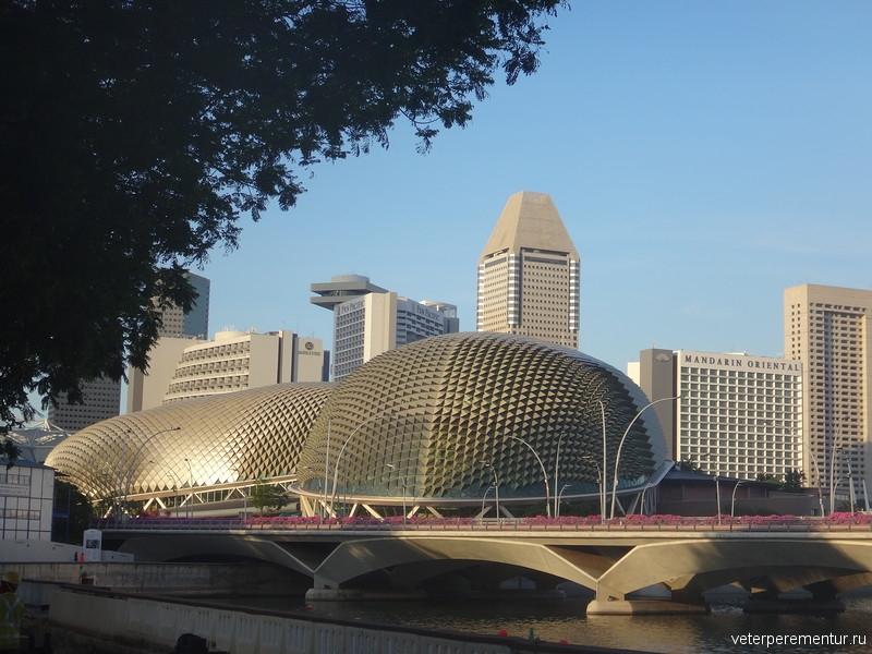 Сингапур, река