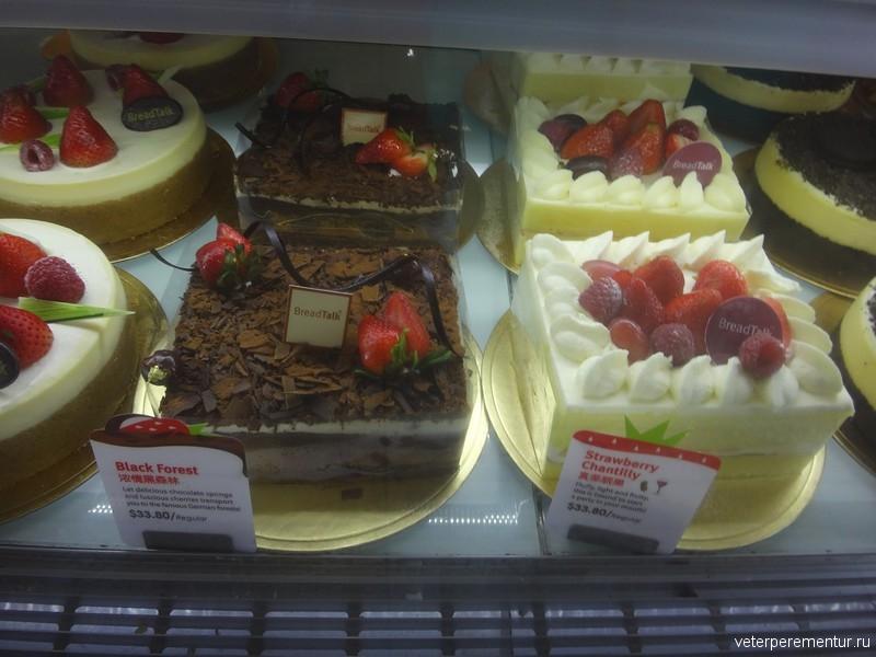 Десерты в Сингапуре