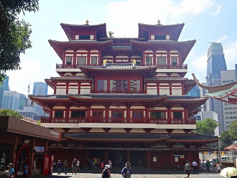 Храм Священного Зуба Будды (Buddha Tooth Relic Temple)