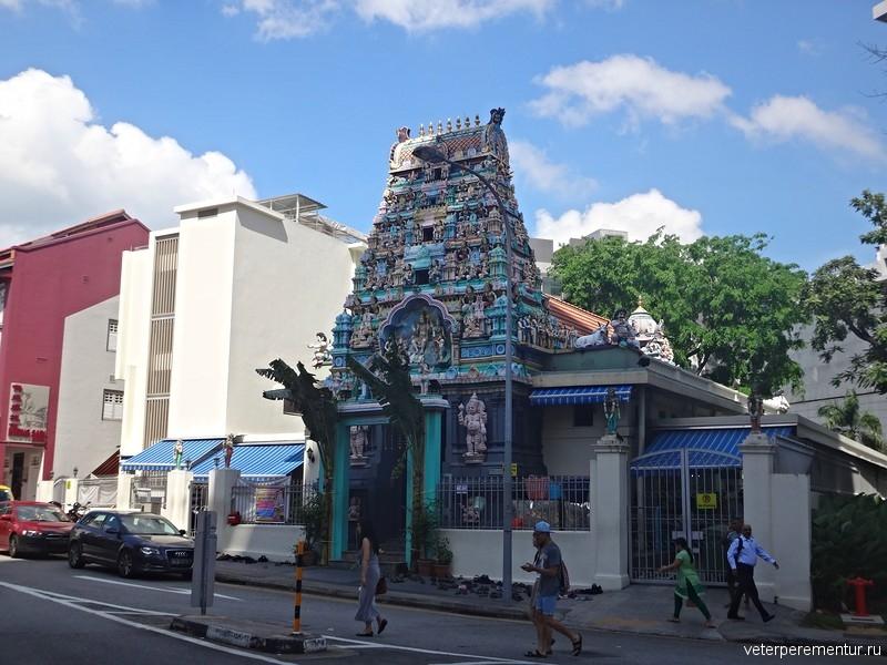 Индуистский храм, Сингапур