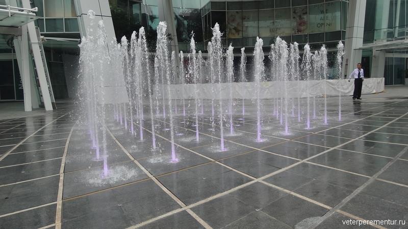 Фонтаны в Сингапуре