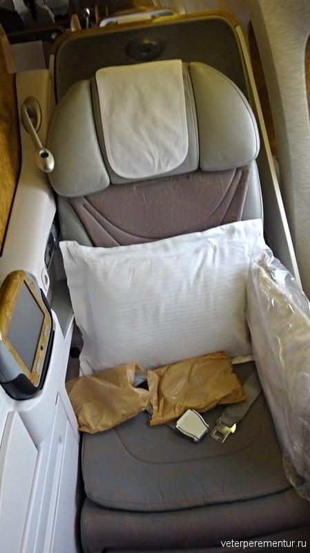 Бизнес- класс авиакомпании Emirates