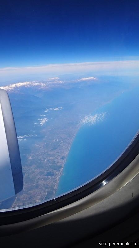 Виды из окна самолета