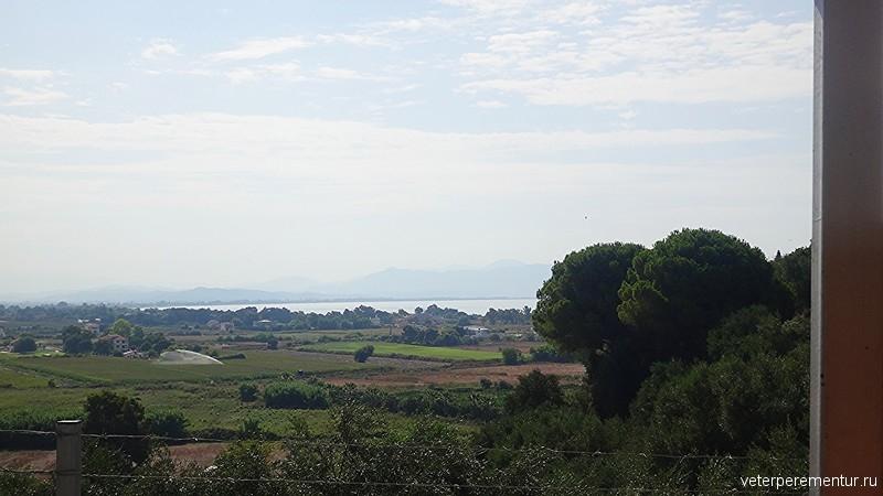 вид на долину, Греция