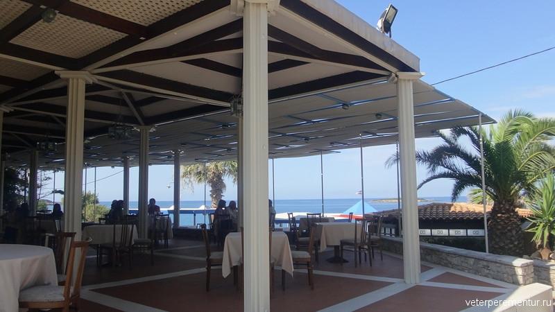 ресторан на пляже св. Андрея, Катаколон