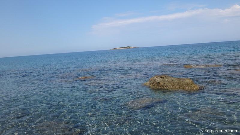 прозрачная морская вода, Греция