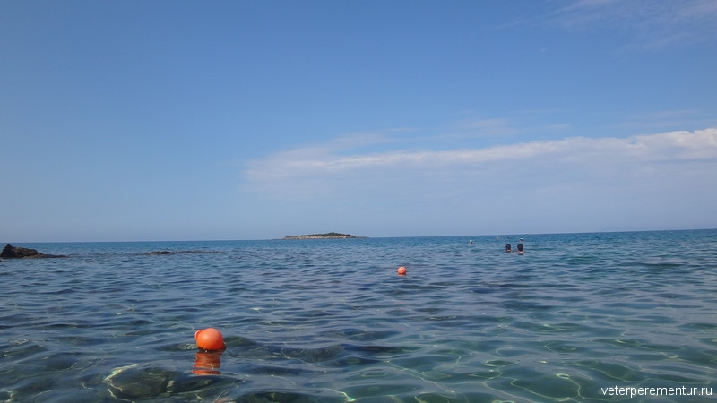 пляж св. Андрея, Катаколон