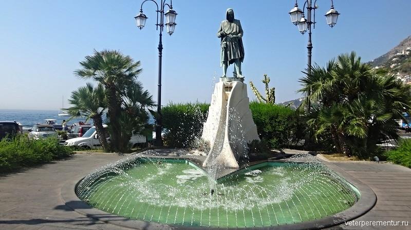 фонтан в Амальфи