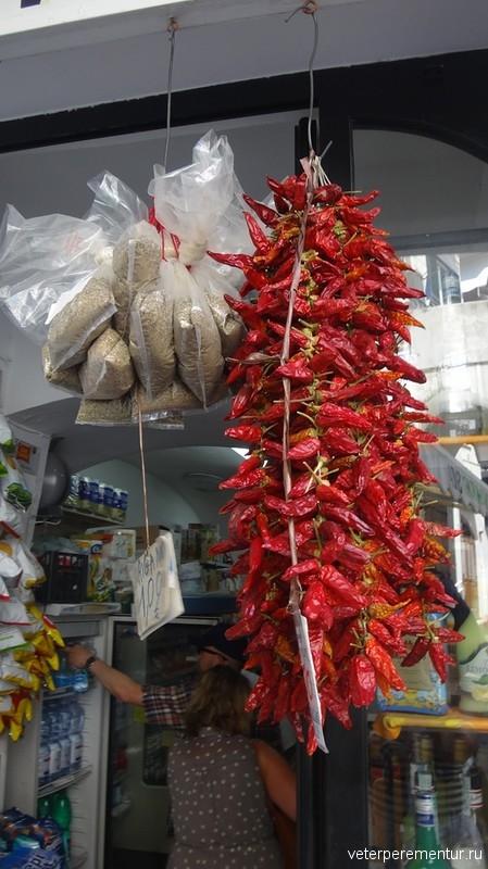 Жгучий перец в Амальфи