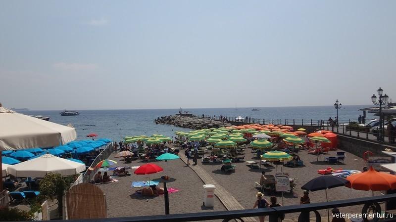 Пляж в Амальфи