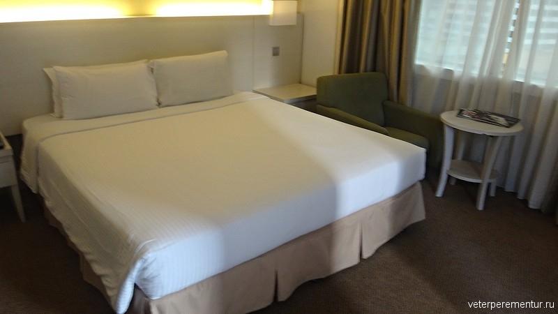 Corus Hotel Kuala Lumpur, номер