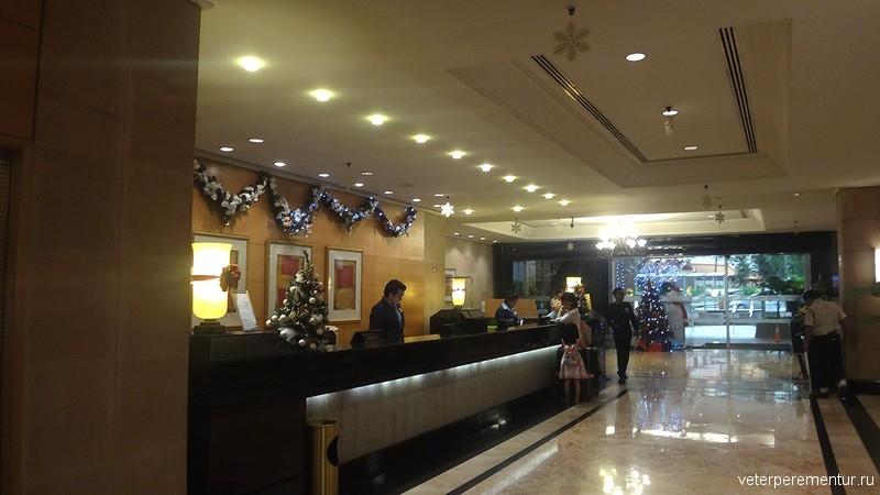 Corus Hotel Kuala Lumpur, холл