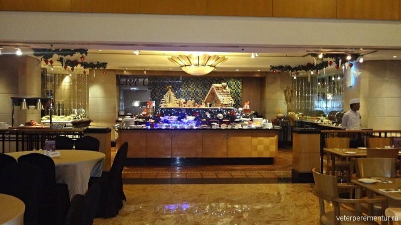Corus Hotel Kuala Lumpur, ресторан на первом этаже