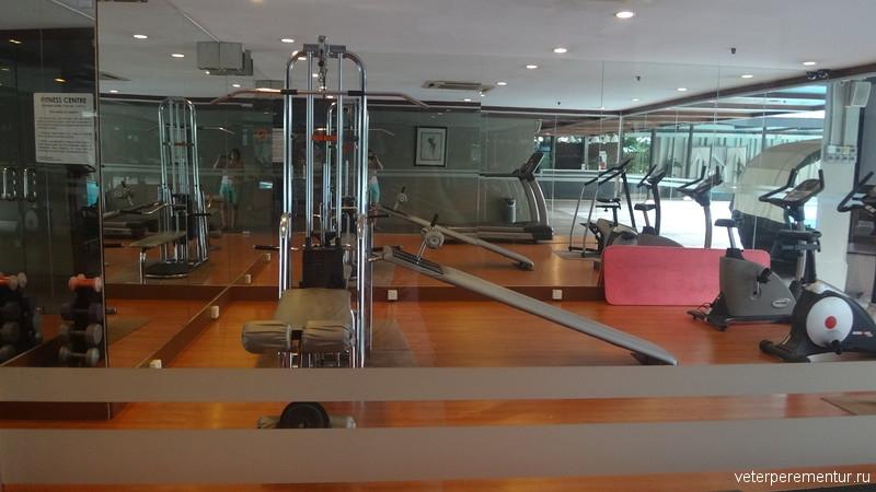 Corus Hotel Kuala Lumpur, тренажерный зал