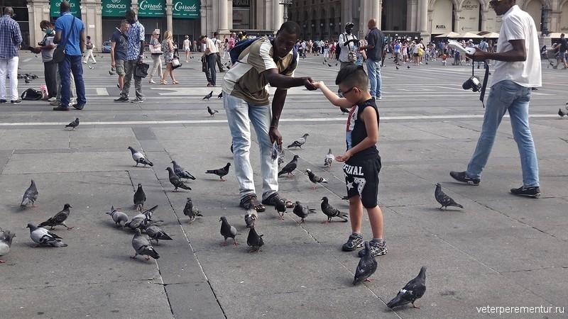 Улицы Милана