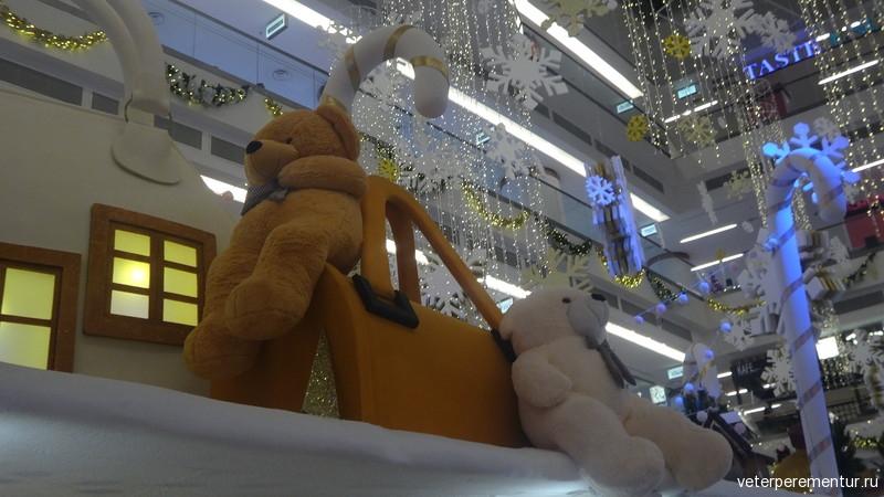 Новогодние украшения, Куала Лумпур