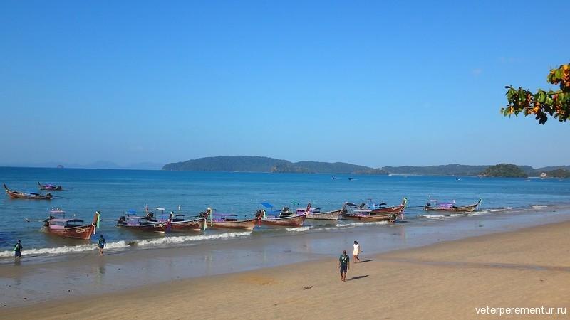 Лодки в порту Ао Нанг