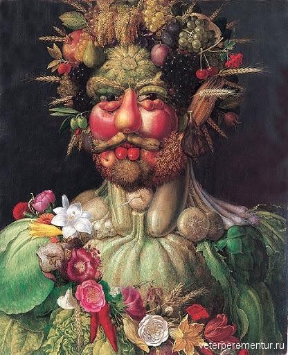 Портрете Рудольфа II в образе Вертумна