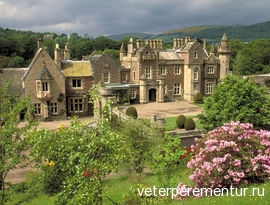 The home of Sir Walter Scott, Abbotsford, Borders, Scotland.