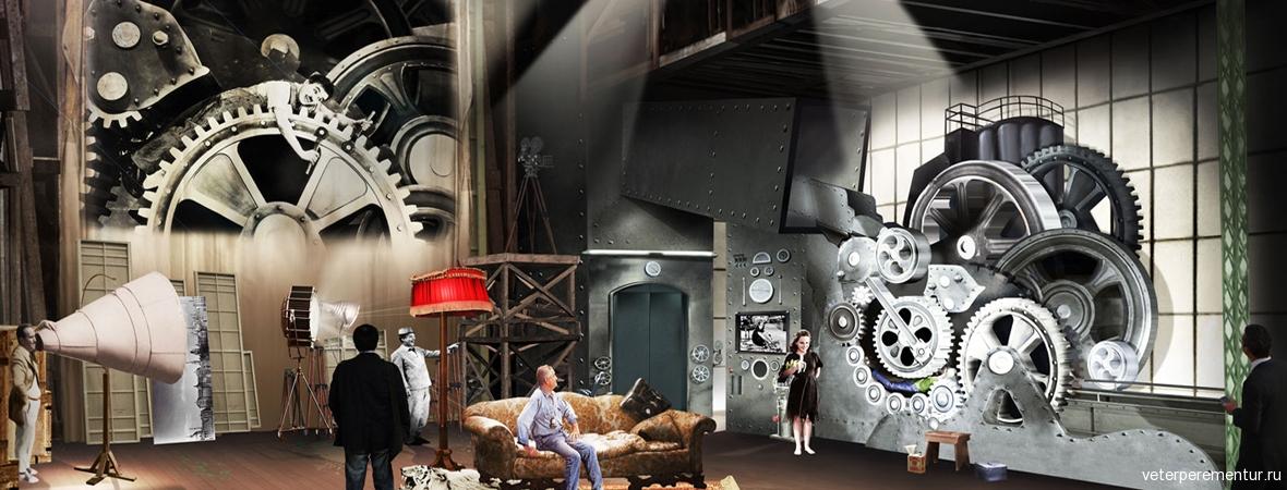 Музей Чаплина в Швейцарии