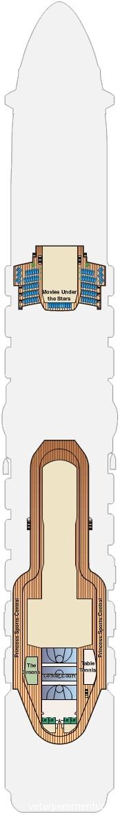 18 палуба ROYAL PRINCESS