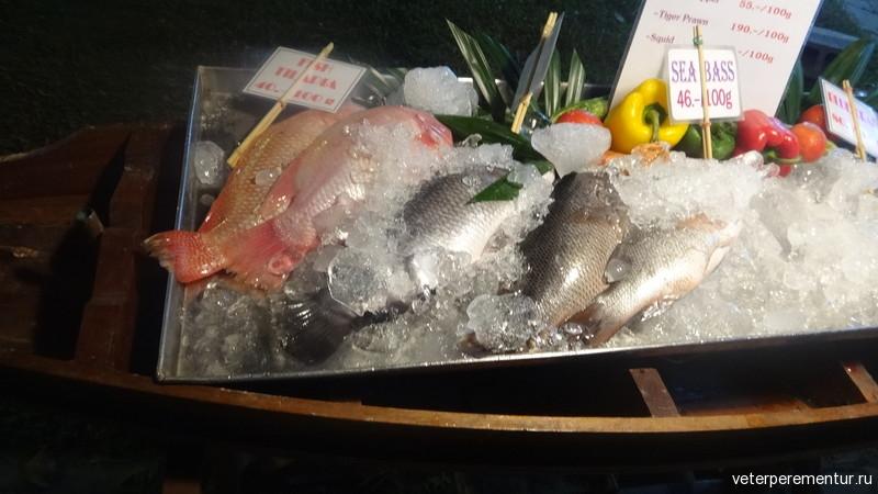 Свежая рыба, Таиланд