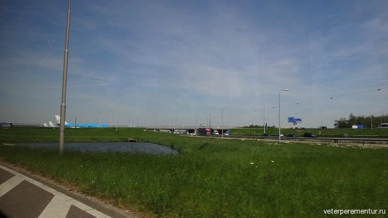 Дорога в Кейкенхоф (Keukenhof)