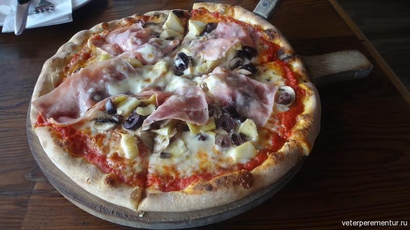 Panaretto Pizzeria Trattoria, пицца