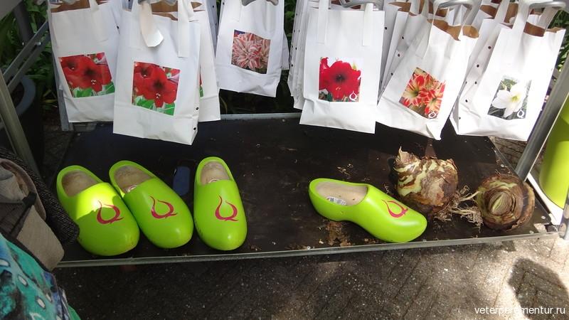 Традиционная голландская обувь кломпы