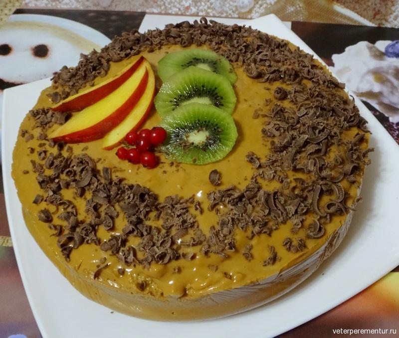 Торт с суфле