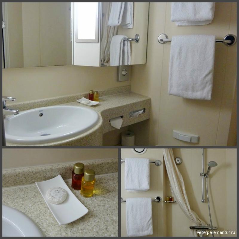 MS RHEIN MELODIE, ванная комната