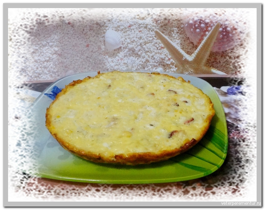 Baked Cream Corn (Кукуруза, запеченная в молоке)
