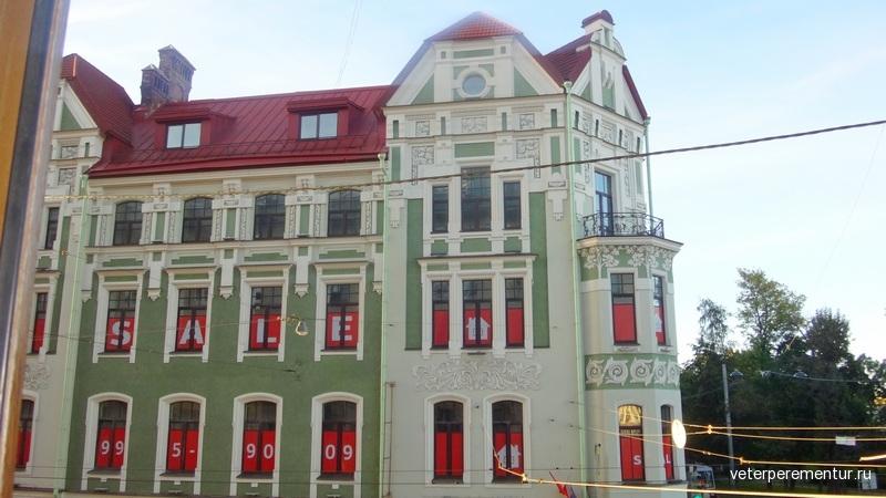 Отель Традиция, Санкт-Пертербург, вид из окна