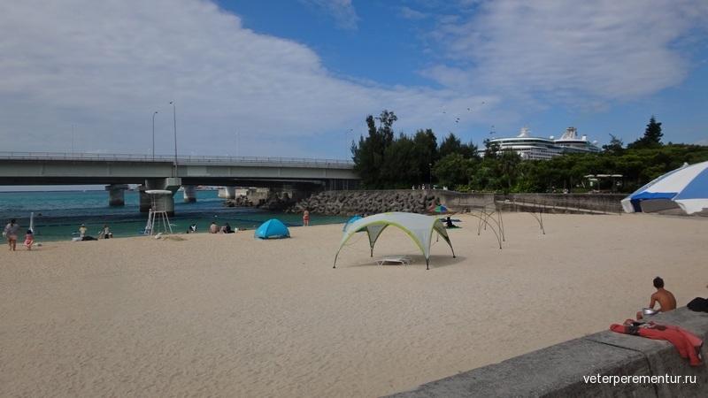 Пляж, Окинава, Наха