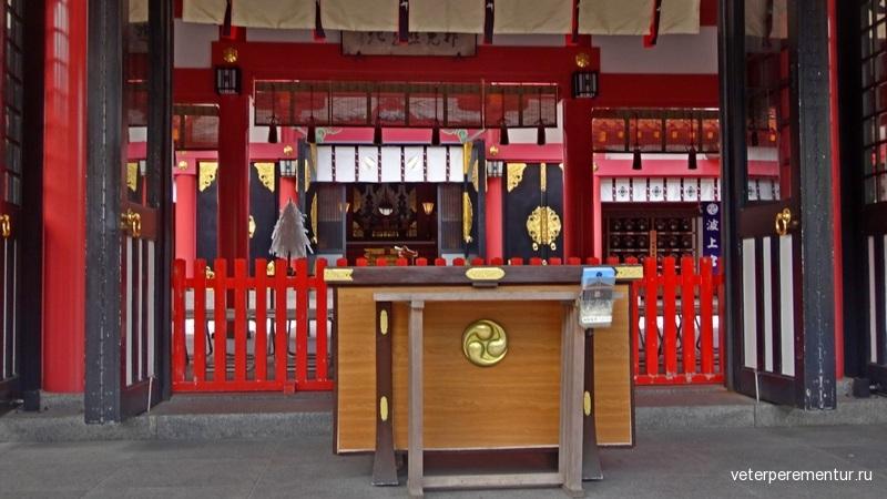 Синтоистский храм Naminoue Shrine (波上宮 Naminoue-gu), Окинава, Наха